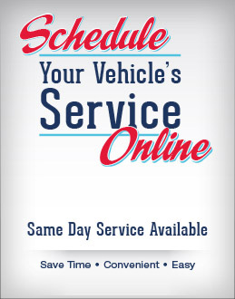 Schedule Your Vehicle Services Online